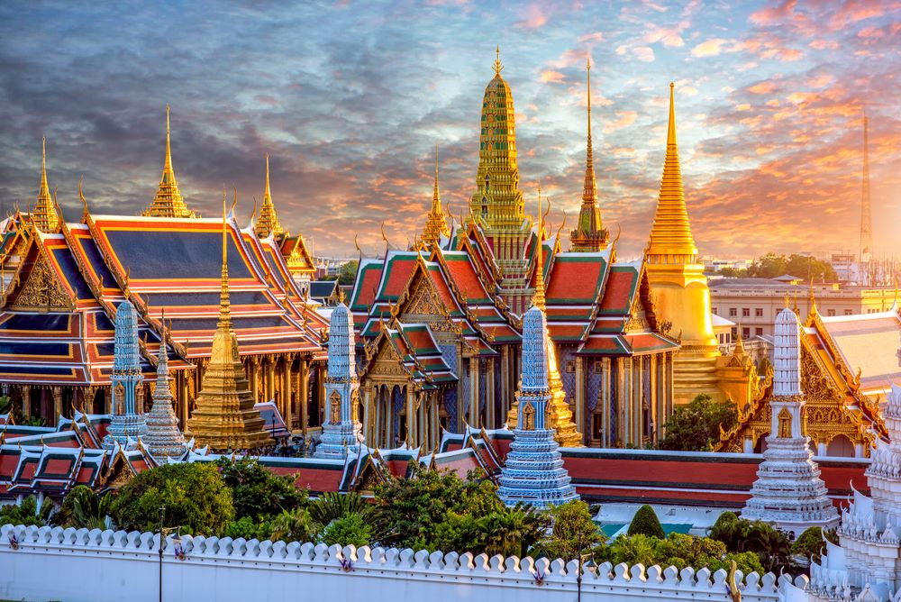 القصر الكبير في بانكوك بانكوك صدى نيوز الاخبارية