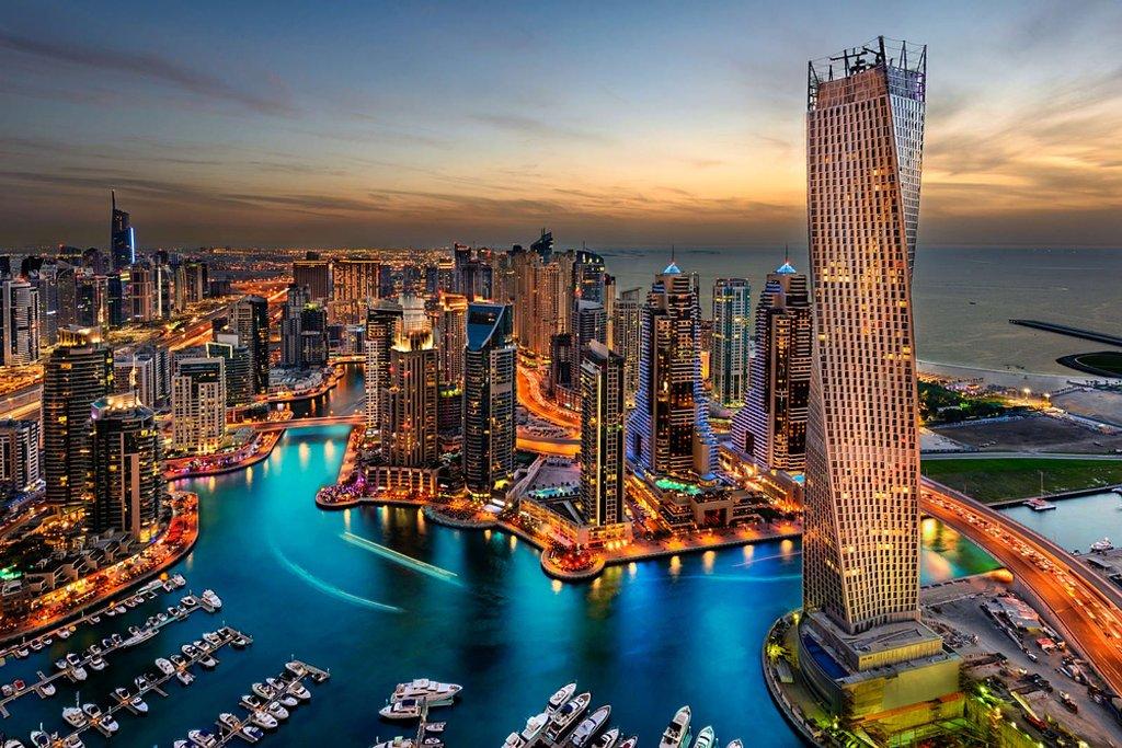رحلتي الى دبي